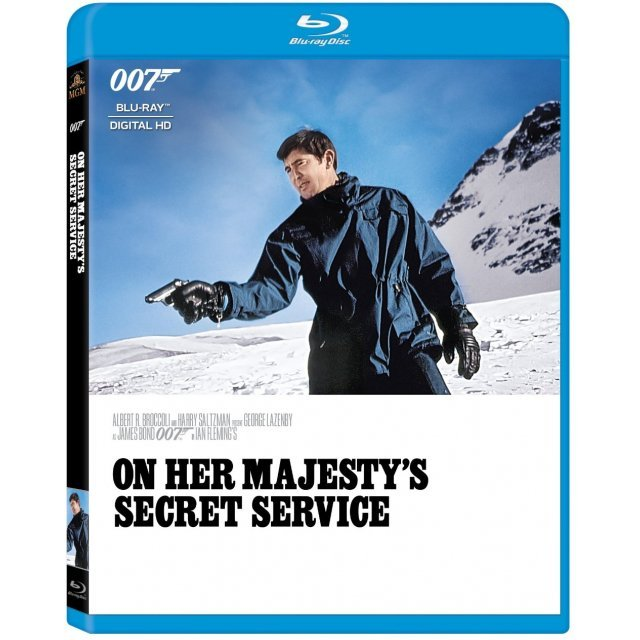 On Her Majesty's Secret Service [Blu-ray+Digital Copy]