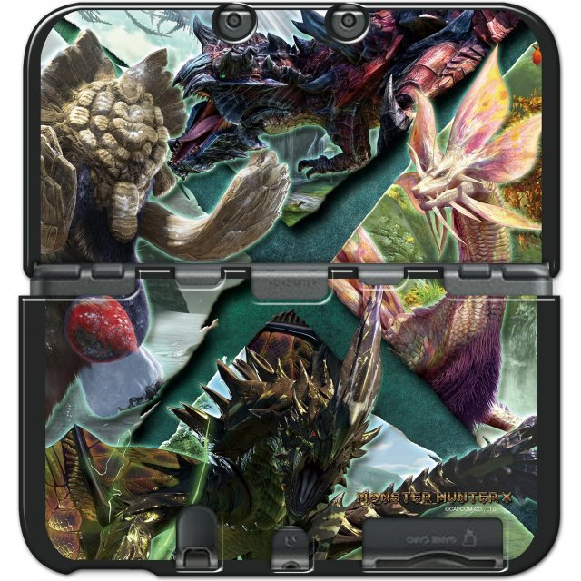 Monster Hunter X Cover for New 3DS LL