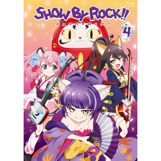 Show By Rock Vol.4 [Blu-ray+CD]