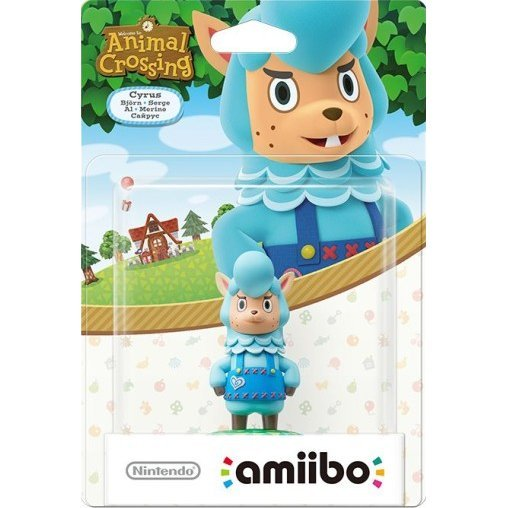 amiibo Animal Crossing Series Figure (Cyrus)