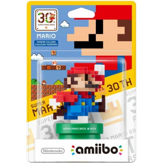 amiibo Super Mario Bros. 30th Series Figure (Mario Modern Color)