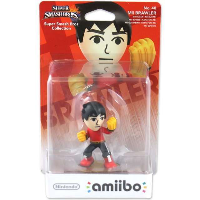 amiibo Super Smash Bros. Series Figure (Mii Brawler)