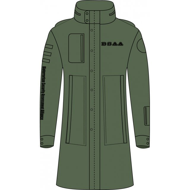 Biohazard Combat Smock Olive Drab (L Size): BSAA