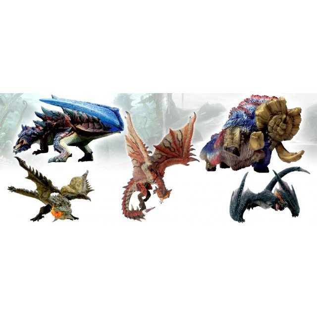 Capcom Figure Builder Monster Hunter Standard Model Plus Vol. 4 (Set of 6 pieces)
