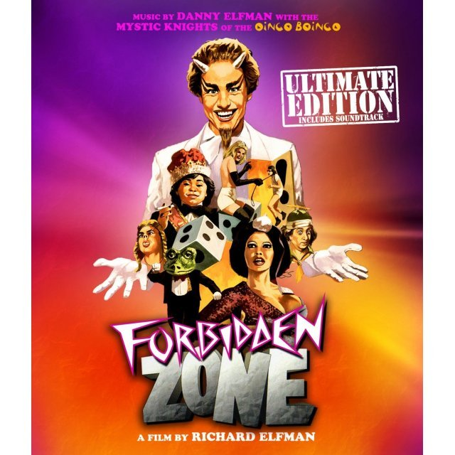 Forbidden Zone [Blu-ray+CD]