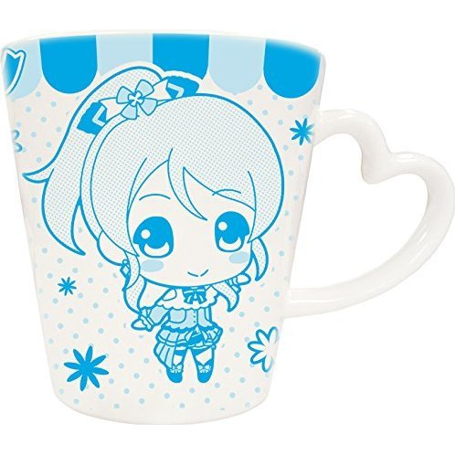 Love Live! Heart Handle Mug: Ayase Eri