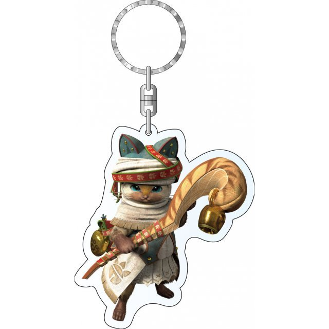 Monster Hunter X Acrylic Keychain: Otomo Airou
