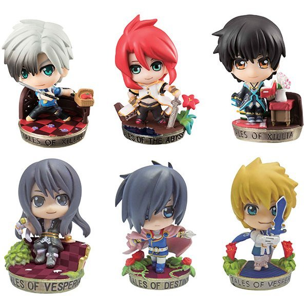 Petit Chara Land Tales of Series: Special Selection (Set of 6 pieces)