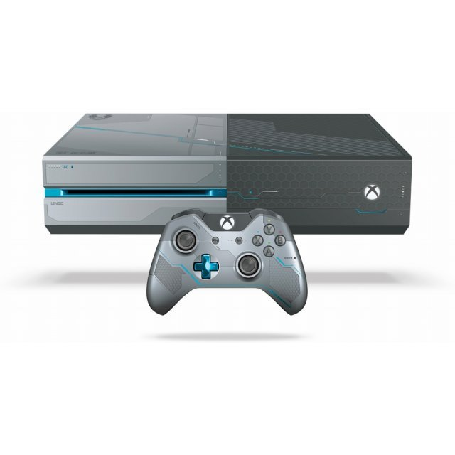 Xbox One Console System [Halo 5: Guardians Limited Edition]