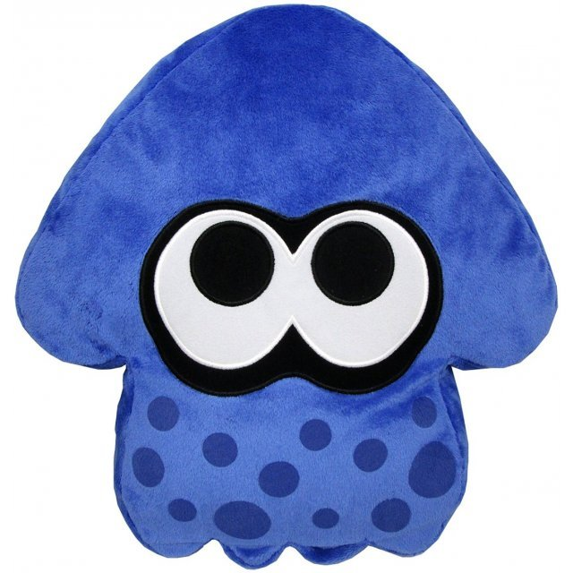 Splatoon Plush: Dark Blue Splatoon Squid Cushion (Re-run)