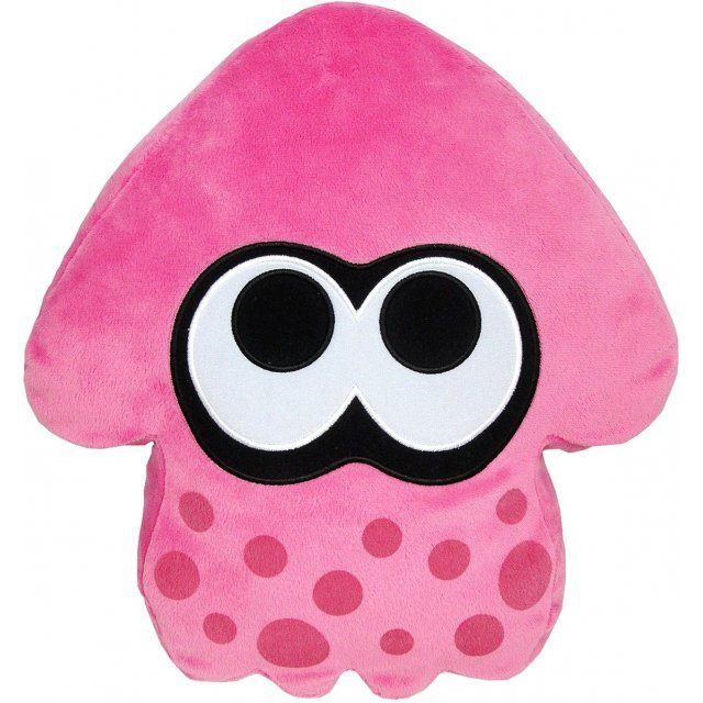 Splatoon Plush: Pink Splatoon Squid Cushion (Re-run)