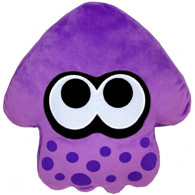 Splatoon Plush: Purple Splatoon Squid Cushion (Re-run)