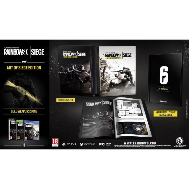 Tom Clancy's Rainbow Six Siege (Art of Siege Edition) (DVD-ROM) (Chinese Subs)