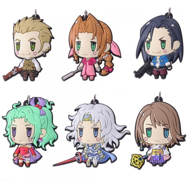 Final Fantasy Trading Rubber Strap Vol. 4 (Set of 6 pieces)