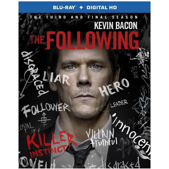 The Following: The Complete Third and Final Season [Blu-ray+Digital HD]