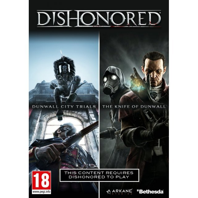 Dishonored: Dunwall City Trials & The Knife of Dunwall Boxed [DLC] (Steam)