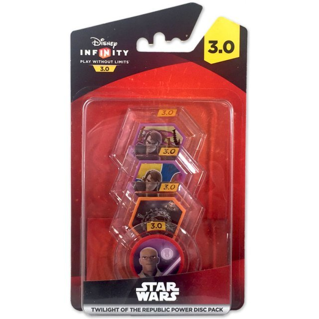 Disney Infinity: Star Wars Twilight of the Republic Power Disc Pack (3.0 Edition)