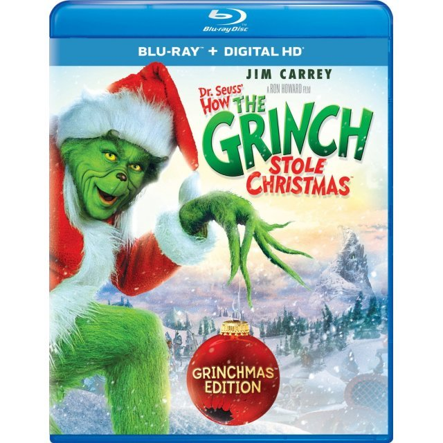 Dr. Seuss' How the Grinch Stole Christmas (Grinchmas Edition)  [Blu-ray+Digital Copy+UltraViolet]