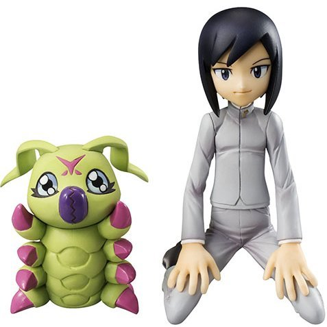 G.E.M. Series Digimon Adventure 02: Ichijoji Ken & Wormmon