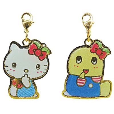 Hello Kitty x Funassyi Cast Bag Charm 2 Set
