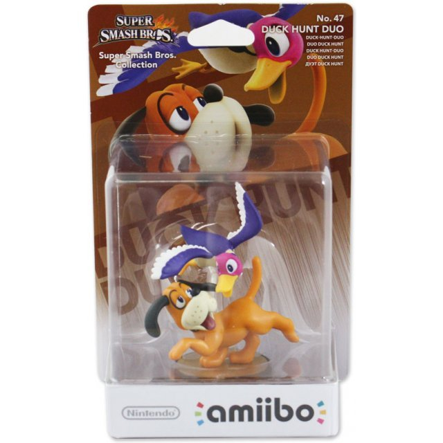 amiibo Super Smash Bros. Series Figure (Duck Hunt Duo)