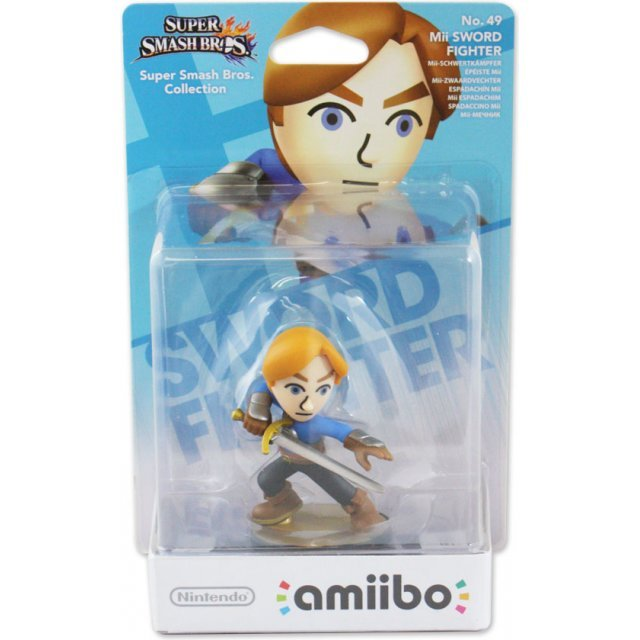 amiibo Super Smash Bros. Series Figure (Mii Swordfighter)