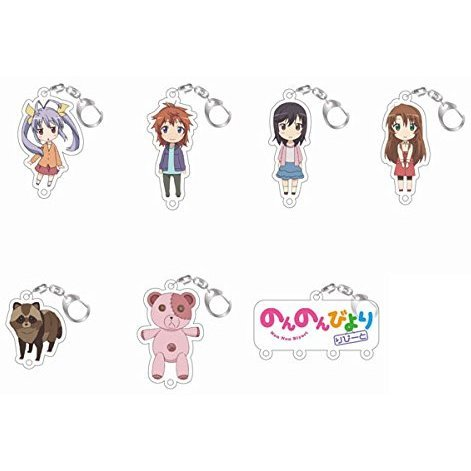 Non Non Biyori Repeat Joint Acrylic Collection -Joicolle- (Set of 8 pieces)