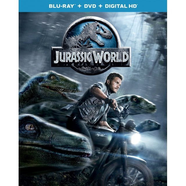 Jurassic World [Blu-ray+DVD+Digital Copy]