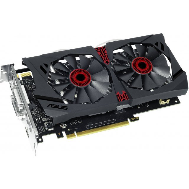 ASUS Strix GeForce GTX 950, STRIX-GTX950-DC2-2GD5-GAMING, 2GB GDDR5