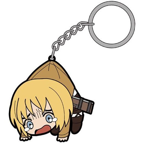Attack on Titan Tsumamare Key Ring: Armin