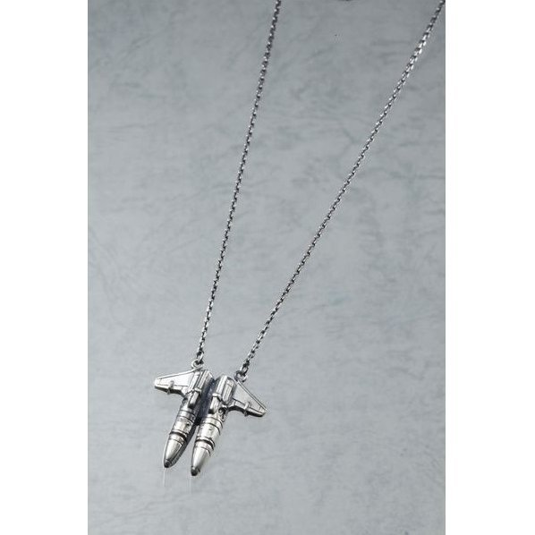 Strike Witches Operation Victory Arrow Striker Unit Silver Pendant: Miyafuji