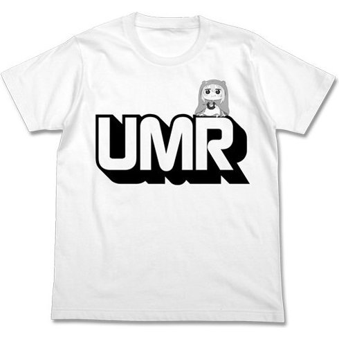 Himouto! Umaru-chan T-shirt White S: UMR (Re-run)