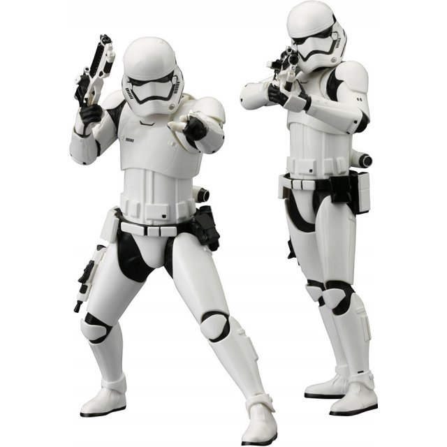 ARTFX+ Star Wars Episode VII The Force Awakens 1/10 Scale Pre-Painted Figure: First Order Stormtrooper 2 Pack
