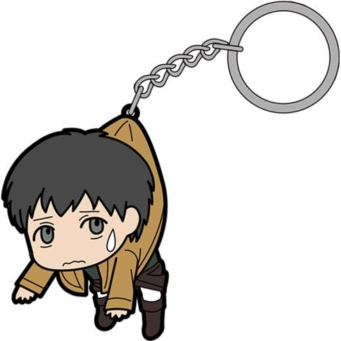 Attack on Titan Tsumamare Key Ring: Bertolt