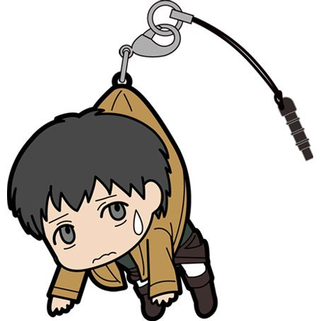 Attack on Titan Tsumamare Strap: Bertolt