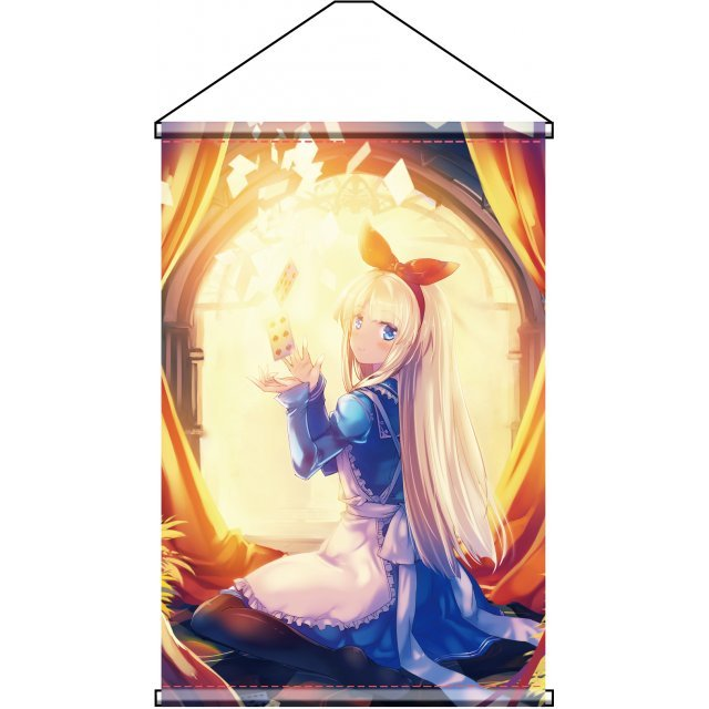 Charama Wall Scroll: Fairy Story Alice in Wonderland by Tokiame