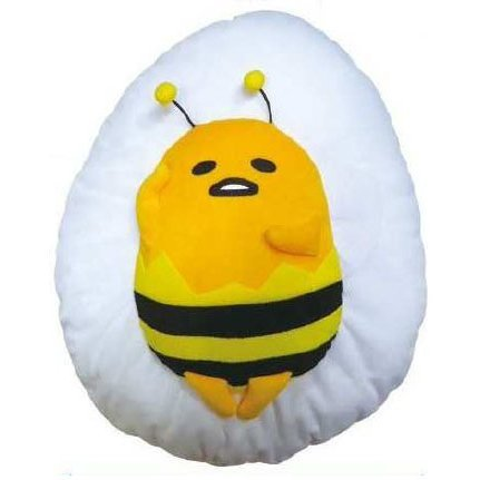 Gudetama Pukkuri Cushion (Kotowaza Series): Abuhachitorazu