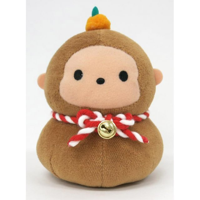 Japanesque Mochitto Plush: Monkey