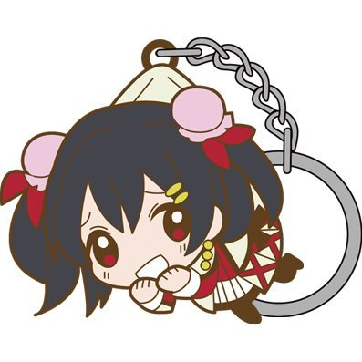 Love Live! Tsumamare Key Ring: Sore wa Bokutachi no Kiseki Ver. Yazawa Nico
