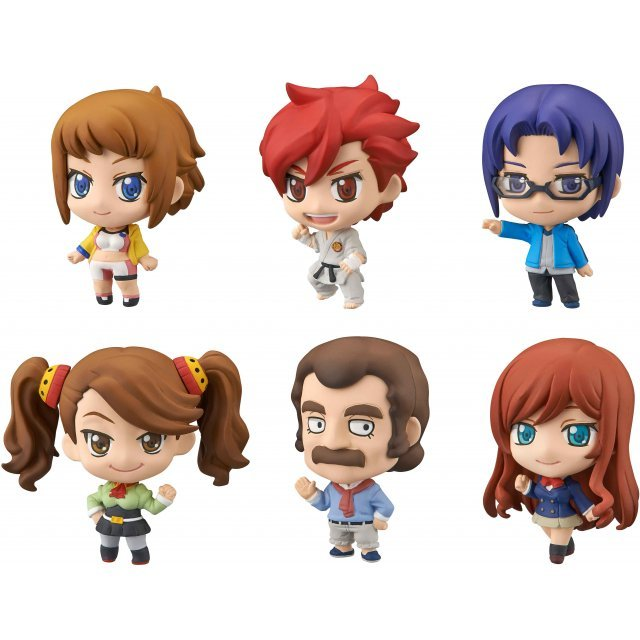 Petit Chara! Ver. G Gundam Build Fighters Try (Set of 6 pieces)
