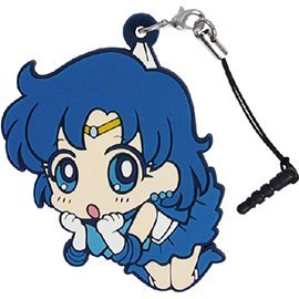 Sailor Moon Crystal Tsumamare Strap: Sailor Mercury