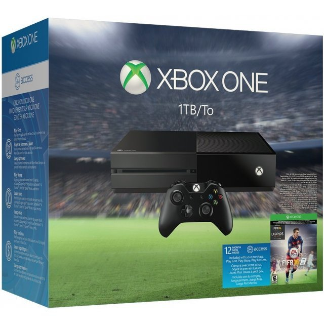 Xbox One Console System [EA Sports FIFA 16]