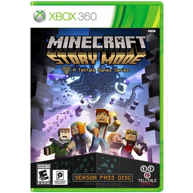 Minecraft: Story Mode - A Telltale Games Series (Season Pass Disc)