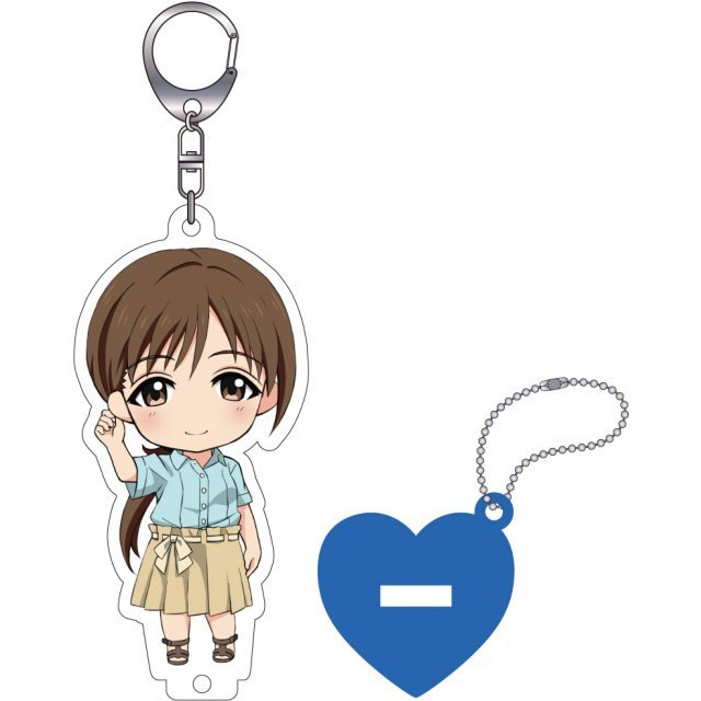 The Idolmaster Cinderella Girls Nendoroid Plus Key Chain with Acrylic Stand: Nitta Minami