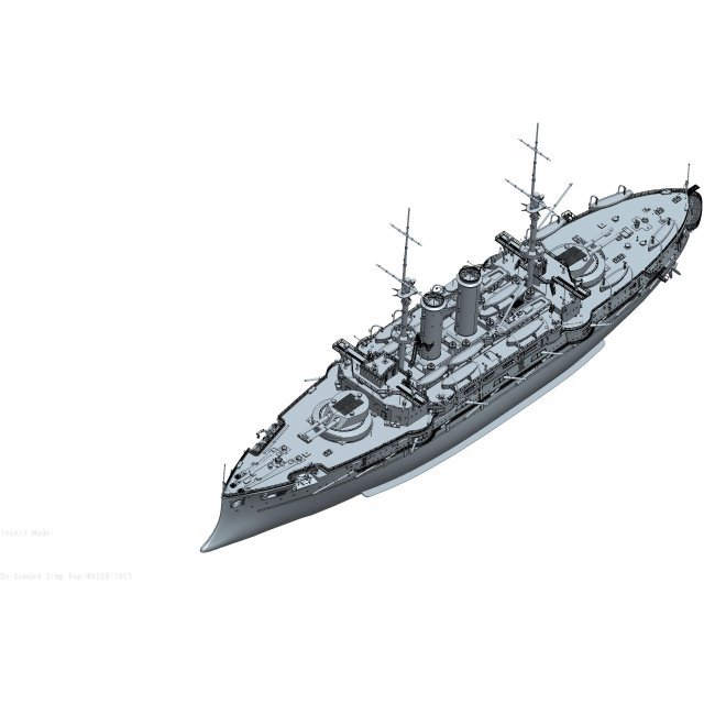 War Ship Series: Battle Ship Mikasa