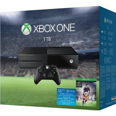 XBox One 1TB Console System [FIFA 16 Bundle Set] (Black)