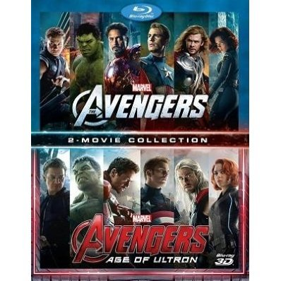 Avengers 1+2 Movie Collection [3D+2D]