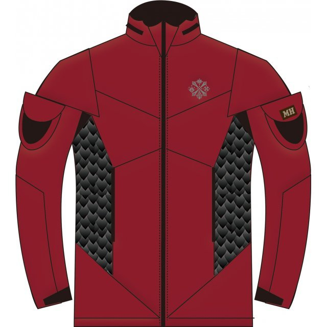 Monster Hunter Hunting Soft Shell for Patch Red (M)