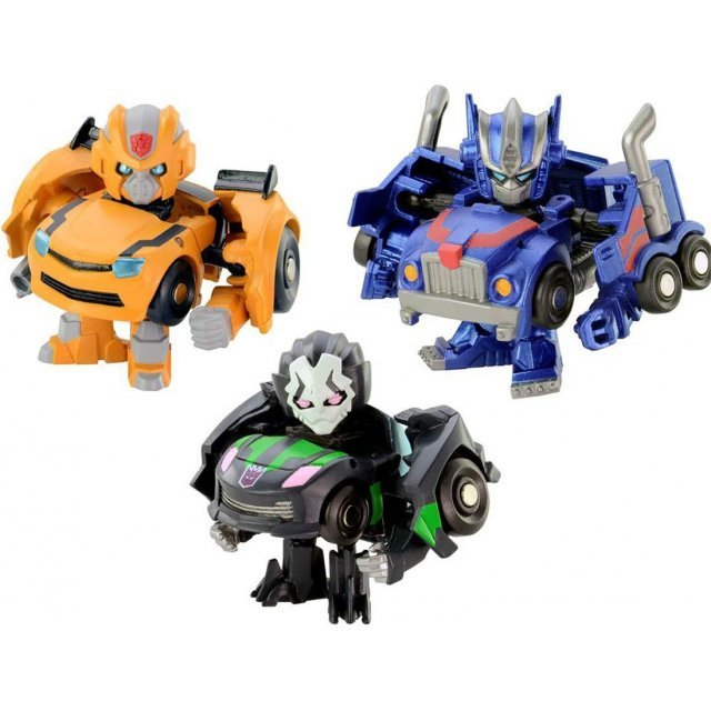 Q-Transformers QTFS01: Anime Hero (Set of 3 pieces)