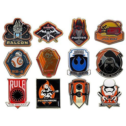 Star Wars The Force Awakens Pins Collection
